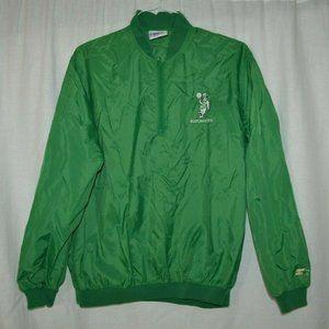 Boston Celtics 1980s NBA Green Starter Jacket